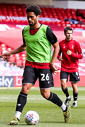 Zak Vyner of Bristol City warms up at Nottingham Forest - Mandatory by-line: Robbie Stephenson/JMP - 01/07/2020 - FOOTBALL - The City Ground - Nottingham, England - Nottingham Forest v Bristol City - Sky Bet Championship