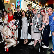 Celebrities and VIP guests attends the preview PhoboPhobia Live Halloween Show on 10th October 2019, at The London Bridge Experience & London Tombs