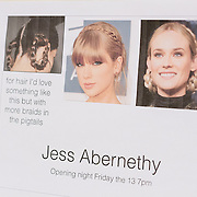 PROVIDENCE, RI - FEB 13: Hair moodboard for the Jess Abernethy show as part of StyleWeek NorthEast on February 13, 2015 in Providence, Rhode Island. (Photo by Cat Laine)