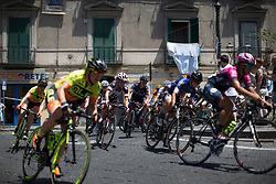 Floortje Mackaaij (NED) of Team Sunweb rides mid-pack in the second lap of Stage 10 of the Giro Rosa - a 124 km road race, starting and finishing in Torre Del Greco on July 9, 2017, in Naples, Italy. (Photo by Balint Hamvas/Velofocus.com)