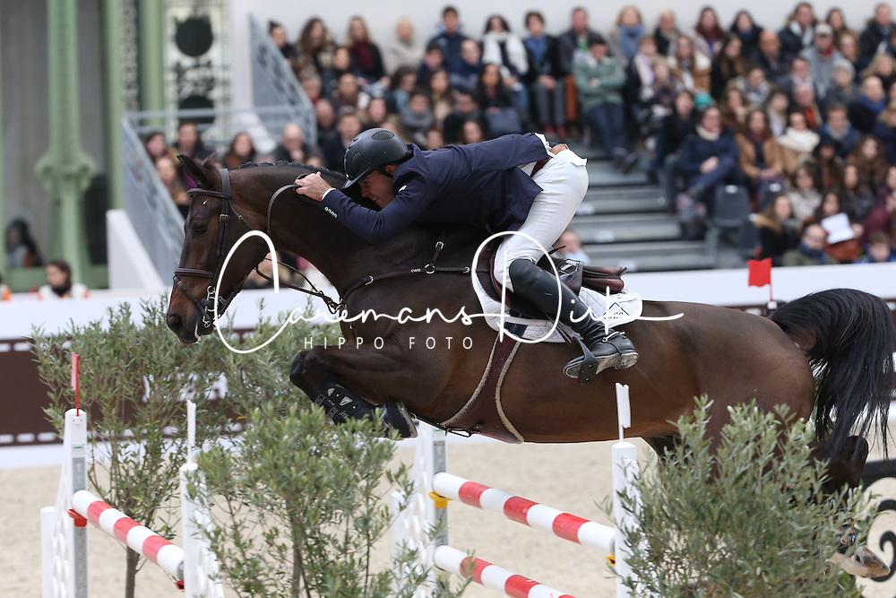 Towell Jack, (USA), Lucifer V<br /> Grand Prix Hermes <br /> Saut Hermes Paris 2016<br /> © Hippo Foto - Counet Julien