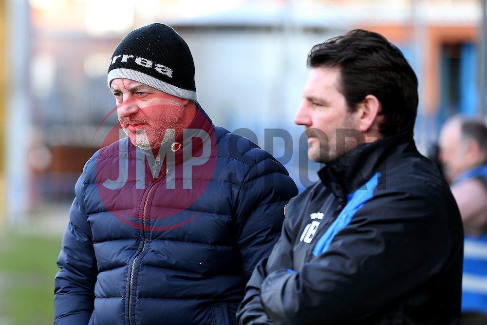 Rochdale manager Keith Hill and Assistant manager Chris Beech - Mandatory by-line: Matt McNulty/JMP - 04/02/2017 - FOOTBALL - Crown Oil Arena - Rochdale, England - Rochdale v Bristol Rovers - Sky Bet League One