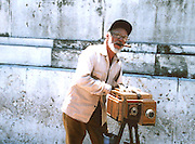 2000 August- Havana, Cuba- ' A Man and his Camera ' in Old Havana, Cuba