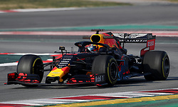 Red Bull's Pierre Gasly during day four of pre-season testing at the Circuit de Barcelona-Catalunya.