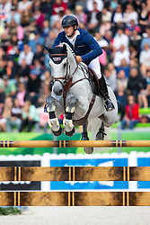 Bronislav Chudyba, (SVK), Concano - Team & Individual Competition Jumping Speed - Alltech FEI World Equestrian Games™ 2014 - Normandy, France.<br /> © Hippo Foto Team - Leanjo De Koster<br /> 02-09-14