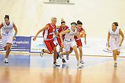 DESCRIZIONE : Ortona Giochi del Mediterraneo 2009 Mediterranean Games Italia Italy Albania Preliminary Women<br /> GIOCATORE : Simona Ballardini<br /> SQUADRA : Nazionale Italiana Femminile<br /> EVENTO : Ortona Giochi del Mediterraneo 2009<br /> GARA : Italia Italy Albania<br /> DATA : 28/06/2009<br /> CATEGORIA : palleggio<br /> SPORT : Pallacanestro<br /> AUTORE : Agenzia Ciamillo-Castoria/G.Ciamillo