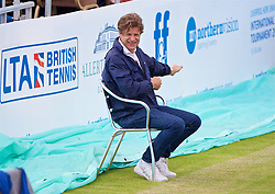 LIVERPOOL, ENGLAND - Thursday, June 15, 2017: Anders Borg during Day One of the Liverpool Hope University International Tennis Tournament 2017 at the Liverpool Cricket Club. (Pic by David Rawcliffe/Propaganda)