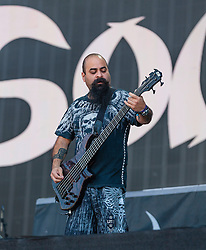 Soulfly performs at Barclaycard BST Hyde Park, London, United Kingdom<br /> Picture Date: 4 July, 2014