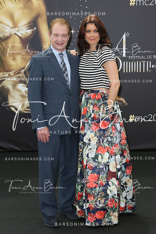 "MONTE-CARLO, MONACO - JUNE 09:  Jeff Perry and Bellamy Young attend ""Scandal"" photocall at the Grimaldi Forum on June 9, 2014 in Monte-Carlo, Monaco.  (Photo by Tony Barson/FilmMagic)"