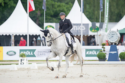 Vanhouche Giel, (BEL), Figaro de Verby<br /> Dressage - CIC3* Luhmuhlen 2016<br /> © Hippo Foto - Jon Stroud<br /> 17/06/16