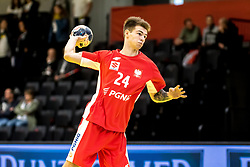 28.10.2018, Raiffeisen Sportpark, Graz, AUT, ÖHB, Invitational, Österreich vs Polen, im Bild Michal Scislowicz (POL)// during the ÖHB Invitational Match between Austria and Poland at the Raiffeisen Sportpark, Graz, Austria on 2018/10/28. EXPA Pictures © 2018, PhotoCredit: EXPA/ Sebastian Pucher