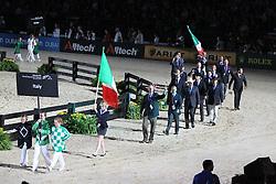Openingceremony: Team Italie<br /> World Equestrian Games Lexington - Kentucky 2010<br /> © Dirk Caremans