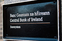 Central Bank of Ireland © London News Pictures 10/01/2011.Irish Prime Minister Brian Cowen is under pressure over his relationship with former Anglo Irish Bank chairman Sen FitzPatrick. Anglo Irish Bank was taken into state ownership in January 2009 and is the largest contributor of assets to the Irish National Asset Management Agency. Picture caption should read Simon Lamrock/LNP