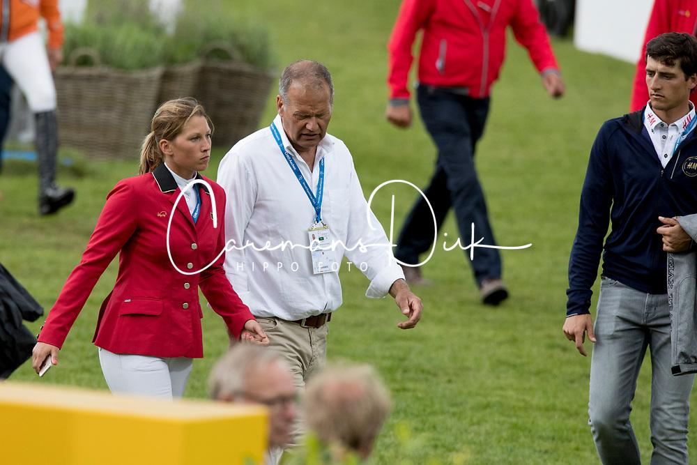 Van Roosbroeck Catherine, Van Roosbroeck Maurice, BEL<br /> CHIO Aachen 2017<br /> &copy; Hippo Foto - Dirk Caremans<br /> 20/07/2017