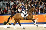 Angela Krooswijk - Ben Johnson DVB<br /> KWPN Hengstenkeuring 2013<br /> © DigiShots
