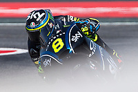 Nicolo Bulega of Italy and Sky Racing VR46 Team  rides during free practice for the Moto3 of Catalunya at Circuit de Catalunya on June 10, 2017 in Montmelo, Spain.(ALTERPHOTOS/Rodrigo Jimenez)