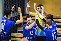 Žugić Nikola during volleyball match between Panvita Pomgrad and Šoštanj Topolšica of 1. DOL Slovenian National Championship 2019/20, on December 14, 2019 in Osnovna šola I, Murska Sobota, Slovenia. Photo by Blaž Weindorfer / Sportida