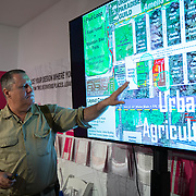 JUNE 9, 2018, MIAMI, FLORIDA---<br /> Lecture by Sam Van Leer (Urban Paradise Guild).<br /> (Photo by Angel Valentin)