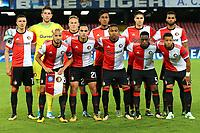 Formazione del Feyenoord, Line Ups Team <br /> Napoli 26-09-2017 Stadio San Paolo<br /> Football Calcio UEFA Champions League 2017/2018<br /> Napoli - Feyenoord<br /> Group F<br /> Foto Cesare Purini / Insidefoto