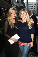 LONDON - June 05: Wallis Day & Ashley James at the Retro Feasts - Launch Party (Photo by Brett D. Cove)