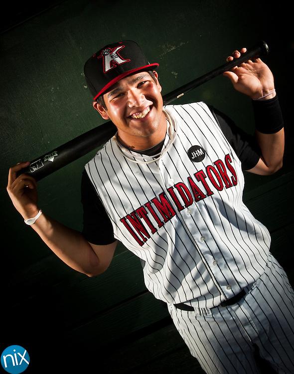 #51 Leighton Pangilinan .Position: Infielder.Bat/Throw: L/R.2011 Club: Great Falls, Kannapolis.Resides In: Escalon, CA