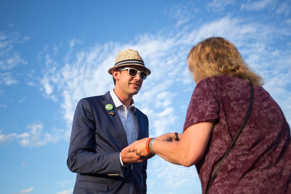 Canada, Edmonton. Aug/07/2013. Campaign open house.