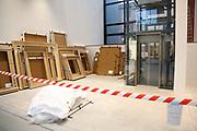 Mannheim. 08.11.17 | Zum Neubau Kunsthalle<br /> Innenstadt. Kunsthalle. Pressegespräch zum Neubau der Neuen Kunsthalle. Die Eröffnung der Neuen Kunsthalle im Dezember nur mit Skulpturen - keine Gemälde wegen technischen Verzögerungen.<br /> <br /> <br /> <br /> <br /> BILD- ID 01541 |<br /> Bild: Markus Prosswitz 08NOV17 / masterpress (Bild ist honorarpflichtig - No Model Release!)