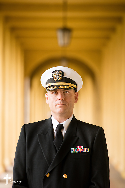 Portrait of Cmdr. Charles E. Varsogea, chaplain at the Marine Corps Recruit Depot, on Friday, Jan. 30, 2015, in San Diego, Calif. LCMS Communications/Erik M. Lunsford