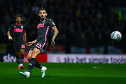 Leeds United midfielder Kalvin Phillips (23) in action during the EFL Sky Bet Championship match between Preston North End and Leeds United at Deepdale, Preston, England on 22 October 2019.