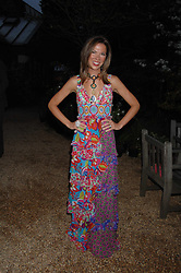 HEATHER KERZNER at the annual Cartier Chelsea Flower Show dinner held at the Chelsea Physic Garden, London on 21st May 2007.<br /><br />NON EXCLUSIVE - WORLD RIGHTS