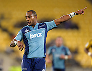 Blues winger Joe Rokocoko. Super 15 rugby match - Hurricanes v Blues at Westpac Stadium, Wellington, New Zealand on Friday, 30 April 2011. Photo: Dave Lintott / photosport.co.nz