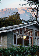 Palampur. India: othe Country Cotttages, in the Chandpur Tea Estate, are simple cottages in the midst of a working tea garden at the foot of the Himalayas (Photo: Ann Summa).