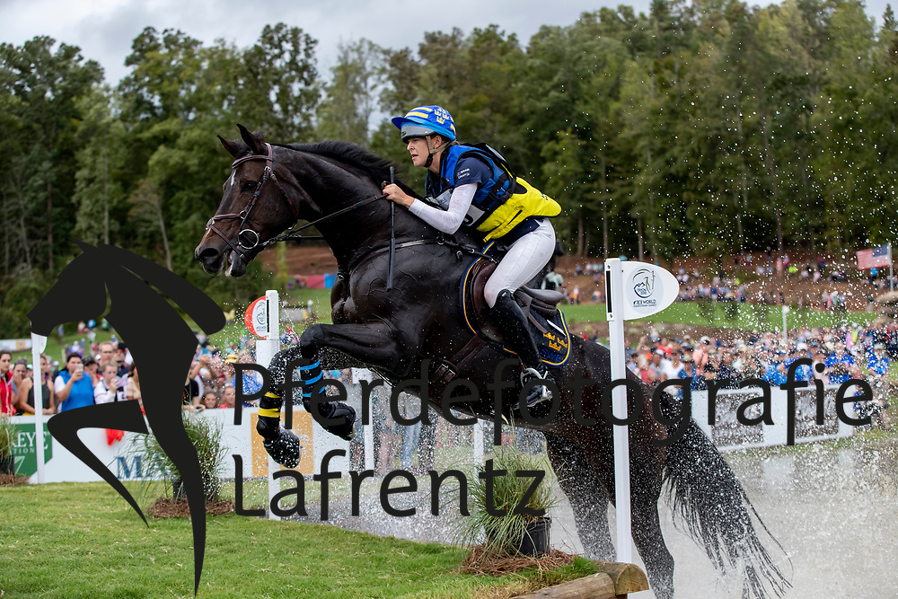 FRESKGARD Anna (SWE), Box Qutie<br /> Tryon - FEI World Equestrian Games™ 2018<br /> Vielseitigkeit Teilprüfung Gelände/Cross-Country Team- und Einzelwertung<br /> 15. September 2018<br /> © www.sportfotos-lafrentz.de/Dirk Caremans