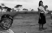 Guarani Kaiowa indigenous people, Mato Grosso do Sul State, Brazil.
