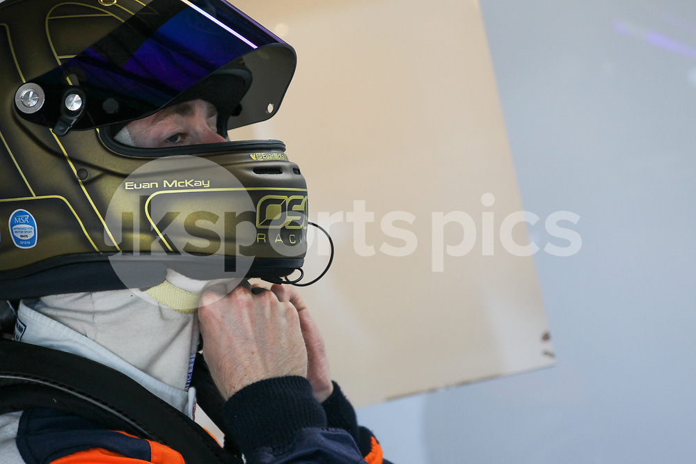 In2Racing McLaren 570S GT4 driver Euan McKay during the British GT And BRDC British F3 Championships at the Snetterton Circuit, Norwich, England on 27 May 2017. Photo by Jurek Biegus.