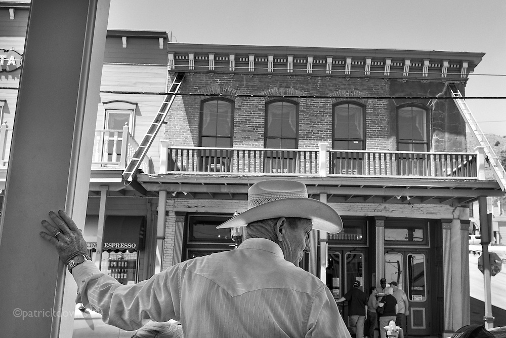 Real cowboy/rancher, in Virginia City.