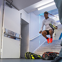 Rafael Nadal of Spain on day twelve of the 2017 Australian Open at Melbourne Park on January 27, 2017 in Melbourne, Australia.<br /> (Ben Solomon/Tennis Australia)