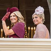 NLD/Den Haag/20190917 - Prinsjesdag 2019, Koningin Maxima en Prinses Laurentien