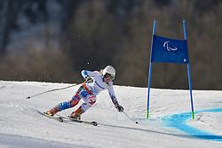 Aleksandra Frantceva Guide:  Pavel Zabotin, Women's Giant Slalom at the 2014 Sochi Winter Paralympic Games, Russia