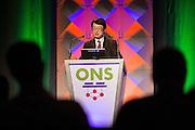The Linux Foundation host its Open Networking Summit 2016 at Santa Clara Convention Center in Santa Clara, California, on March 17, 2016. (Stan Olszewski/SOSKIphoto)