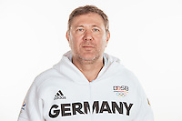 Dr. Michael Tank poses at a photocall during the preparations for the Olympic Games in Rio at the Emmich Cambrai Barracks in Hanover, Germany, taken on 20/07/16   usage worldwide