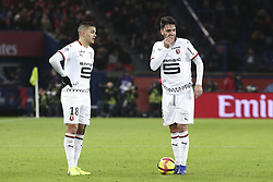 January 27, 2019 - Paris, France - Hatem Ben Arfa (Rennes) - Clement Grenier  (Credit Image: © Panoramic via ZUMA Press)