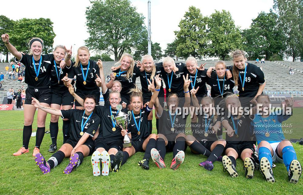 G17. Honka. Helsinki Cup. Finaalit. Pallokenttä, Töölö, Helsinki, 14.7.2012. Photo: Jussi Eskola