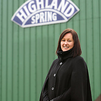 Highland Spring....22.01.08<br /> Claire Wilson, Marketing Manager at Highland Spring pictured at the frims HQ in Blackford, Perthshire.<br /> Picture by Graeme Hart.<br /> Copyright Perthshire Picture Agency<br /> Tel: 01738 623350  Mobile: 07990 594431