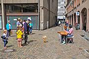 Germany, Baden-Wurttemberg, Freiburg im Breisgau, street scene