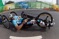 DEBERG Jean-Francois, H3, BEL, Cycling, Road Race à Rio 2016 Paralympic Games, Brazil