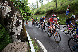 Amalie Dideriksen (DEN) of Boels-Dolmans Cycling Team climbs on Stage 4 of 2019 Emakumeen Bira, a 155.8 km road race starting and finishing in Onati, Spain on May 25, 2019. Photo by Balint Hamvas/velofocus.com