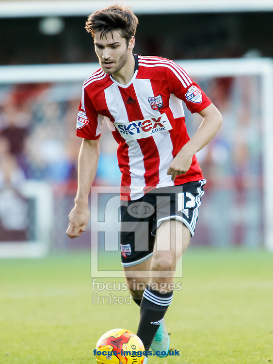 Jon Toral of Brentford during the Sky Bet Championship match between Brentford and Derby County at Griffin Park, London<br /> Picture by Mark D Fuller/Focus Images Ltd +44 7774 216216<br /> 01/11/2014