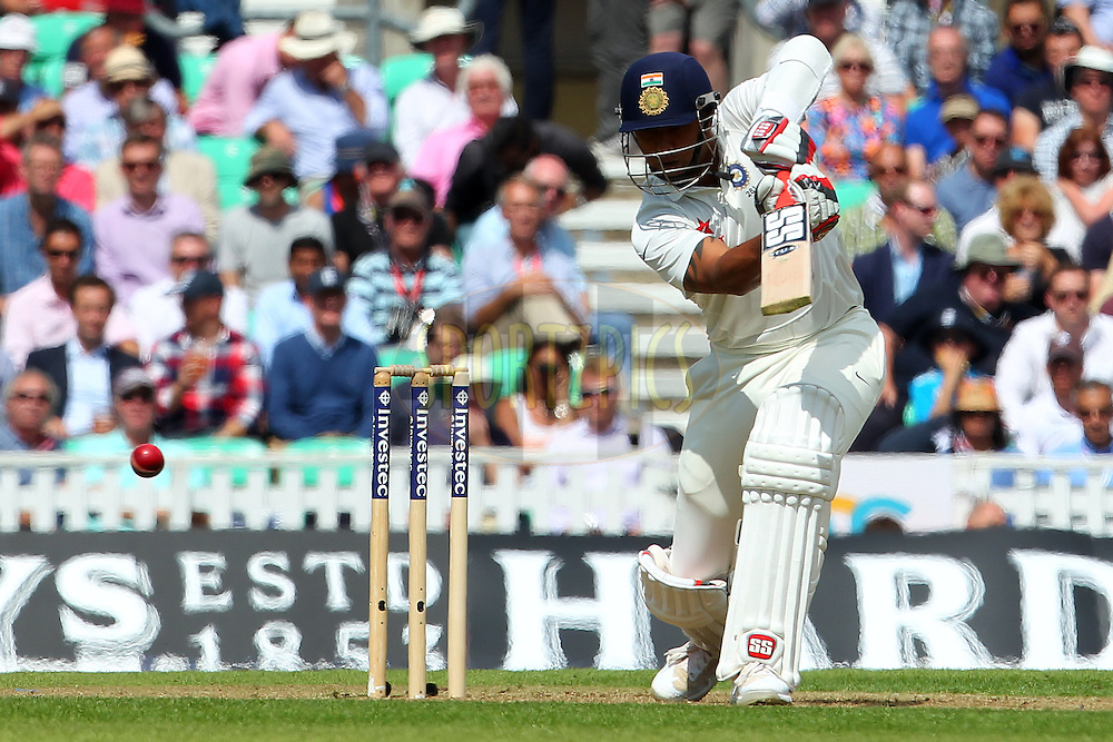 Stuart Binny of India during day one of the fifth Investec Test Match between England and India held at The Kia Oval cricket ground in London, England on the 15th August 2014<br /> <br /> Photo by Ron Gaunt / SPORTZPICS/ BCCI