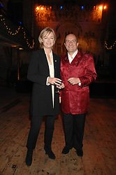 KIT & KATIE HESKETH-HARVEY at a reception to Discover Wilton's Music Hall held at the hall in Graces Alley, London E1 on 5th December 2007.<br />